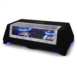 Auna C8-Sub-2x12-LED, Audio-dvojitý subwoofer do auta