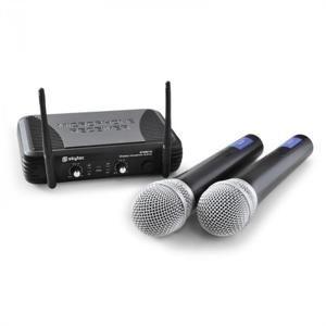 Bezdrátový mikrofonní set Skytec STWM722