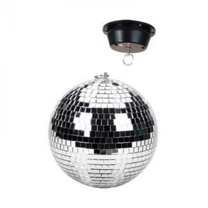 Skytec 20 cm disco koule s motorem, držák pro připevnění ke stropu