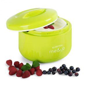 Klarstein me & yo, jogurtovač, zařízení na výrobu jogurtu, 1 litr, bez BPA, jablkově zelený
