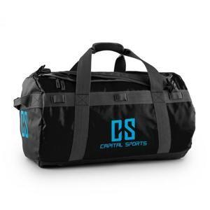 Capital Sports Travel M, cestovní taška, batoh, 60 l, nepromokavý, černý
