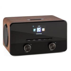 Auna Connect 100, internetové rádio, mediální přehrávač, bluetooth, WLAN, USB, AUX, linkový výstup