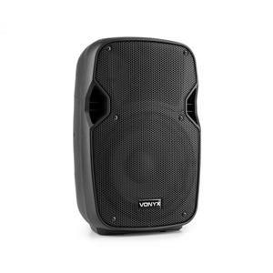"""Vonyx AP800, černý, hi-end 10"""" pasivní reproduktor, 200 W, 35mm příruba na stativ"""