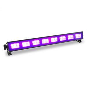 Beamz BUV93, LED bar, černé světlo, světelná lišta se spínačem, 8 x 3 W, UV LED