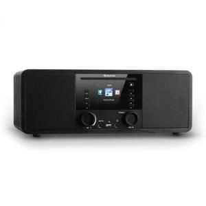 Auna IR-190, internetové rádio, CD přehrávač, WiFi, UPnP, USB, dálkový ovladač, černá barva