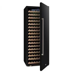 Klarstein Botella Cura chladnička na víno, 224 lahví, LCD displej, uhlíkový filtr