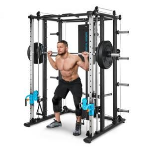 Capital Sports Pro Amaze Smith Machine Cable Cross, multifunkční stroj na cvičení