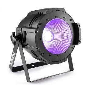Beamz Professional COB100UV PAR, UV LED, 100 W, DMX nebo samostatný provoz, černý
