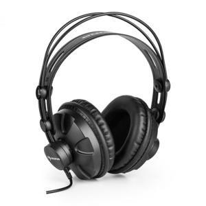 Auna HR-580, studiová sluchátka, over-ear, černá