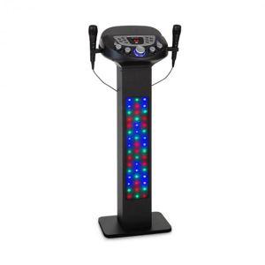 Auna KaraBig, LightUp, karaoke systém, BT, 2x mikrofon, multicolor, USB, 40 W RMS, 640 W max.