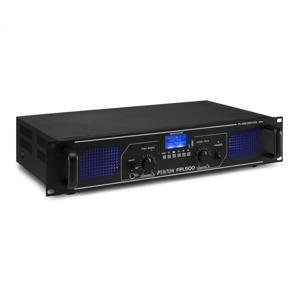 Fenton FPL500, digitální zesilovač, 2 x 250 W, BT, přehrávač médií, USB port, SD slot