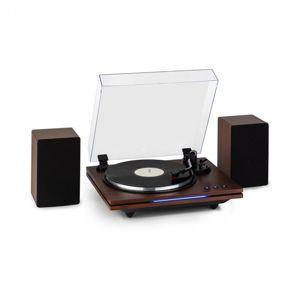 Auna TT-Play PLUS, gramofon, reproduktory, 20 W max., BT, 33/45/78, rpm