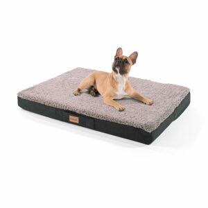 Brunolie Balu, pelíšek pro psa, polštář pro psa, možnost praní, ortopedický, protiskluzový, prodyšná paměťová pěna, velikost M (79 x 8 x 60 cm)