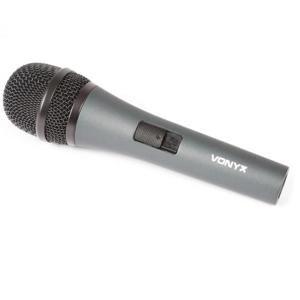 Vonyx DM825, dynamický mikrofon, XLR, včetně kabelu