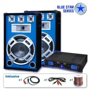 "Skytronic PA set Blue Star Series ""Beatstar"", 2000 W"