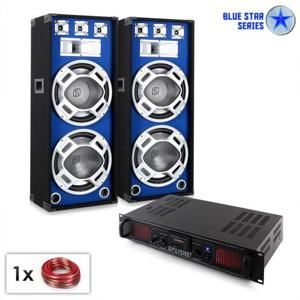 "Electronic-Star PA set Blue Star Series ""Beatsound bluetooth MP3"" 2000 W"