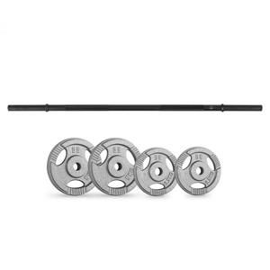 Capital Sports činkové kotouče straight bar-set 15 kg 4 závaží straight bar