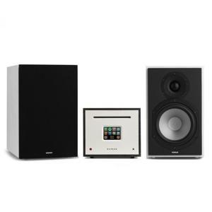 Numan Unison Reference 802 Edice - All-in-One stereo systém, včetně 2 reproduktorů, černá/bílá + kryt