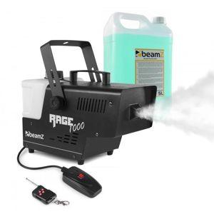 Beamz Rage 1000, výrobník mlhy, včetně mlžné tekutiny, 1000 W, 125 m³/min.